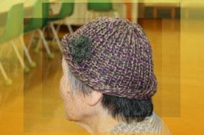 ゲスト様作製の帽子