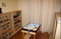 箱庭療法室